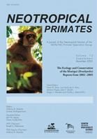 Neotropical Primates / Volume 13 / December 2005 / Ecologia-Anthony B. Rylands / Ernesto Rodrigues Luna / Editores